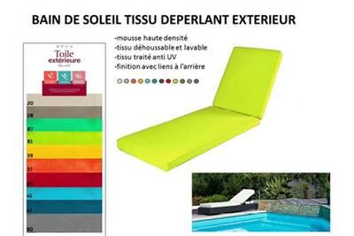 Coussin Pour Chaise De Jardin Coreme Bain Soleil 180 X 60 12
