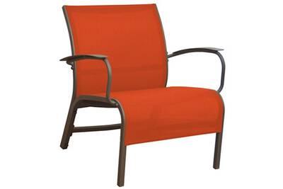 Chaise et fauteuil de jardin Proloisirs Fauteuil lounge en aluminium ...