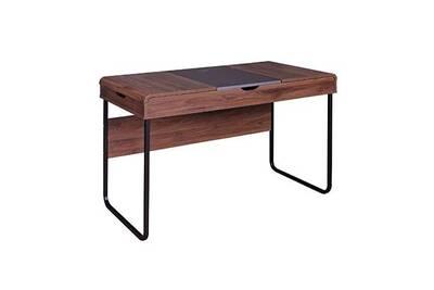 Bureau maisonetstyles bureau avec abattant 118x75x59 cm en bois