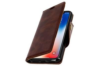 coque iphone x portefeuille magnetique