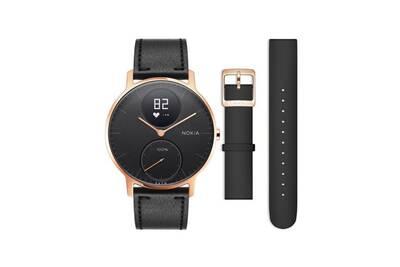 large choix de designs esthétique de luxe Nouveaux produits Nokia - montre tracker d'activité steel hr 36mm noir + bracelet silicone  noir