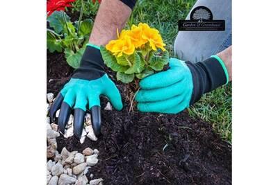 Accessoire Pour Serre De Jardin Innovagoods Gants De Jardinage Avec