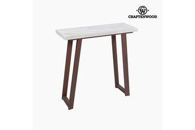 Commode Craftenwood Meuble D Entree Bois De Pin Fer Forge 80 X 30 X
