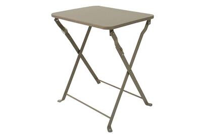 Table de jardin Pegane Table d\'appoint de jardin pliante coloris ...