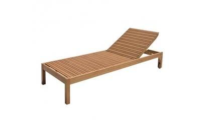 Mobilier de jardin enfant AUCUNE Chaise longue de jardin réglable en ...