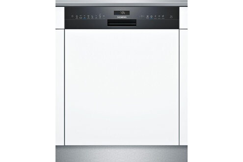 Lave-vaisselle 60cm 14c 42db a++ intégrable avec bandeau noir - siemens - s