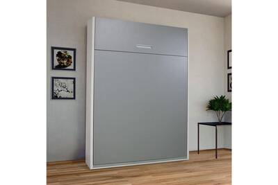 Lit de 2 places tousmesmeubles armoire lit escamotable 2 personnes wally darty - La maison de l armoire lit ...