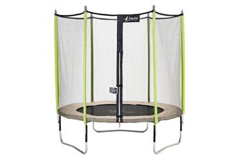 Trampoline Kangui Kangui - trampoline de jardin 244 cm + filet de sécurité jumpi zen 250