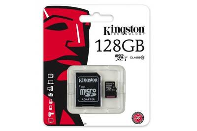 carte micro sd 128go Carte mémoire micro SD Kingston Carte mémoire micro sd 128 go | Darty