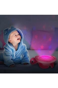 Jouets éducatifs OREGON SCIENTIFIC Veilleuse musicale et projecteur d'étoiles colorée tortue (rose)