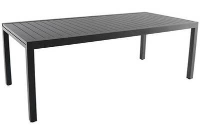Table de jardin Kettler Table en aluminium avec allonge malaga | Darty