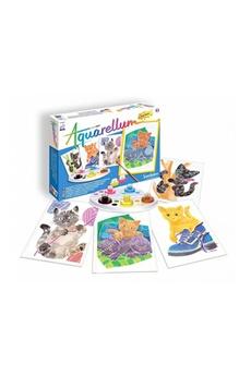 Peinture et dessin SENTOSPHERE Aquarellum junior chatons