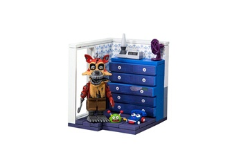 Figurines personnages Mcfarlane Toys Five nights at freddy's - jeu de construction small left dresser and door