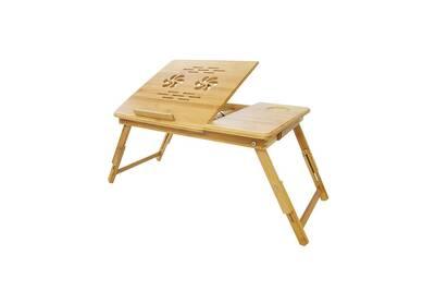 Lit D'aérationMatériauBambou Trous Avec Table OrdinateurPlateau Réglable PliableBureau Portable Pour De PTuOXkZi