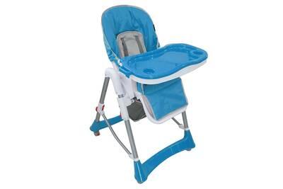 Chaise Haute Todeco Pour Bebe Pliante Bleu Taille Deployee 105 X 75 60 Cm
