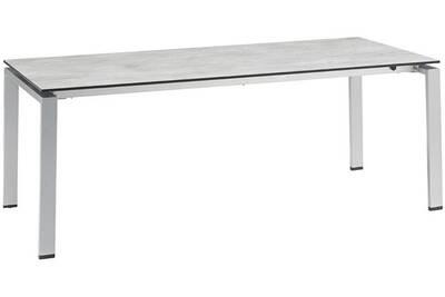 Table de jardin Kettler Table haute résistance avec allonge 300 cm ...