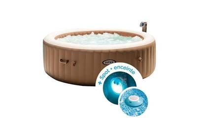 spa gonflable intex spa gonflable intex purespa bulles 6. Black Bedroom Furniture Sets. Home Design Ideas