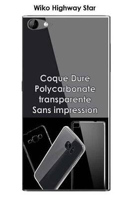 Coque wiko highway star 4g transparente (coque dure)