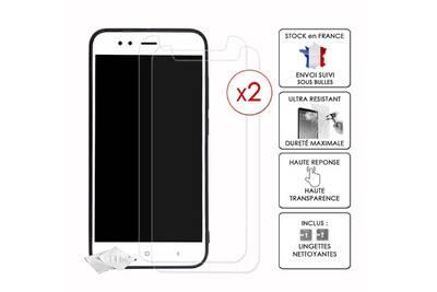 Protection Ecran Smartphone PH26R Asus Zenfone 6 Pack 2 Films De Decran En Verre Trempe Haute Transparence Ultra Resistant Durete Maximale