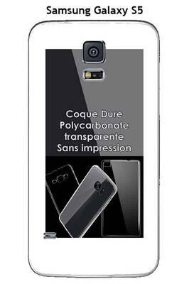 coque samsung s5 transparente