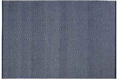 Tapis De Salon Fabhabitat Tapis Intérieur Extérieur Zen Bleu Et