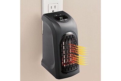 Radiateur électrique Wewoo Chauffage électrique pour bureau maison ac 220-240 v eu plug 400 w portable mini handy chauffe-air chaud ventilateur radiateur chauffe-eau sortie mura