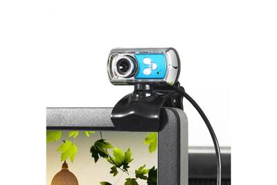 Webcam wewoo webcam 12.0 mega pixels pour ordinateur bureau skype pc