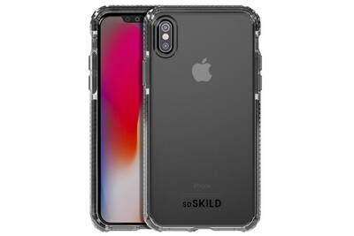 coque noir silicone iphone x