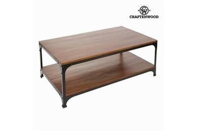 Ensemble Table Chaise Craftenwood Table Basse En Bois Et Métal