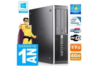 Hp Pc hp compaq 6000 pro sff intel e6300 ram 4go disque 1 to graveur dvd wifi w7