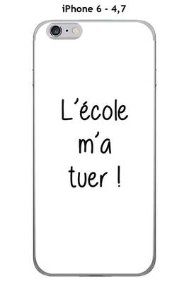 coque iphone 6 ecole
