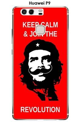 Coque huawei p9 design revolution moustache