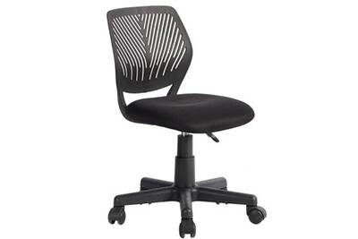 Fauteuil bureau altobuy tez chaise de bureau noire & piètement