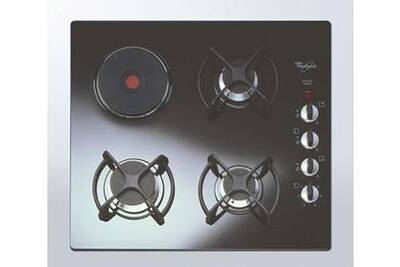 plaque mixte whirlpool table de cuisson mixte 3 1 verre. Black Bedroom Furniture Sets. Home Design Ideas