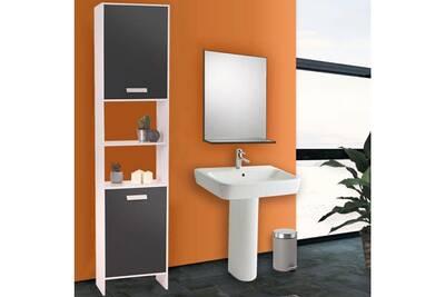 Meuble salle de bain Probache Meuble colonne salle de bain design en ...