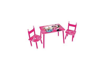 Ensemble Table Chaise Fun House Minnie 2 Chaises
