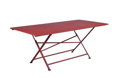 Table de jardin Fermob Table pliante rectangulaire 90x190 cargo ...