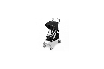 Poussette Canne Maclaren Globetrotter Light Luxe Black White Noir