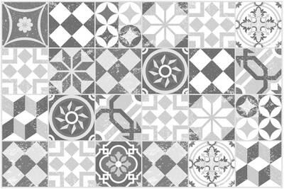 Tapis De Sol 60x90cm Mosaique Grise Contento 868217 02