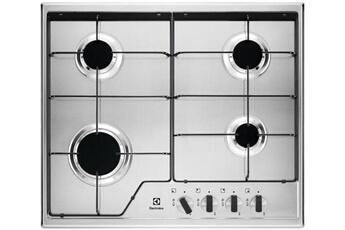 77dbaa33c57769 Plaque gaz Table de cuisson gaz 59.5cm 4 feux 7800w inox - electrolux -  kgs6424x
