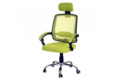 Fauteuil Bureau Mendler De Arendal Chaise Rotative Appui Tte Accoudoirs Tissu Vert
