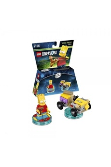 Figurine Lego Bart (the simpsons) lego dimensions fun pack
