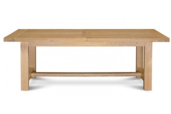 Table Table extensible mansart - bois chêne clair massif Hellin Meubles 939ffea017a2