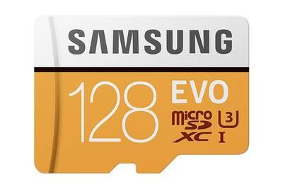 Carte Sd 128 Go.Samsung Evo Carte Memoire Micro Sd 128 Go Sdxc Uhs I U3 Classe 10 100mo S
