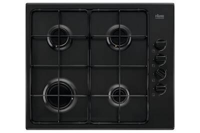 nouvelle collection eac9f 85947 Table de cuisson gaz 60cm 4 feux 8000w noir - faure - fgh62414ba