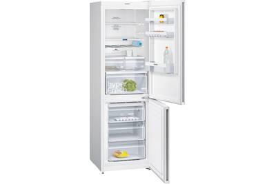 refrigerateur congelateur en bas siemens r frig rateur combin 60cm 324l a no frost blanc. Black Bedroom Furniture Sets. Home Design Ideas
