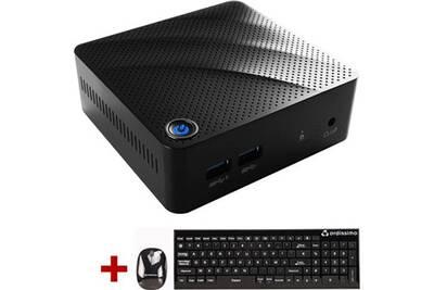 PC de bureau Ordissimo Mini PC - Atom / 2Go / 500Go | Darty