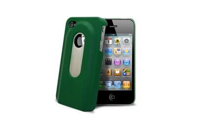 Coque décapsuleur verte iphone 4s/4