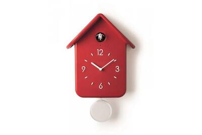Horloges Guzzini Horloge A Coucou 30cm Rouge Guzzini 16860255