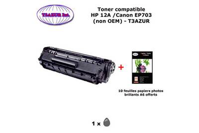 Cartouche d'encre T3azur Toner générique canon ep703 pour
